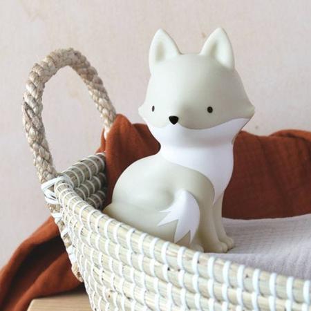 Slika za A Little Lovely Company® Mini lampica  Artic Lisica