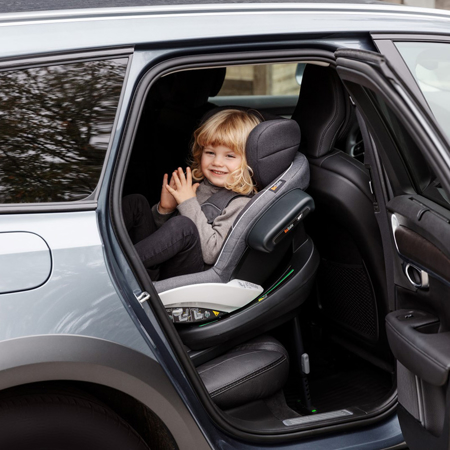 Besafe® Dječja autosjedalica iZi Modular X1 i-Size (40-75 cm) Metallic Grey