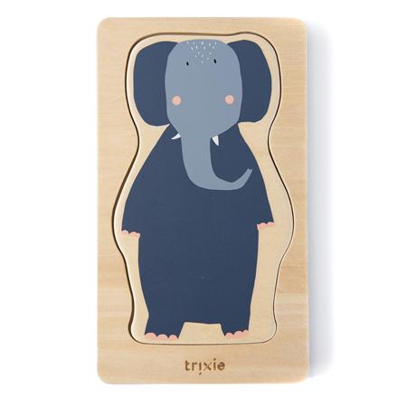 Slika za  Trixie Baby® Četveroslojna drvena slagalica sa životinjskim likovima
