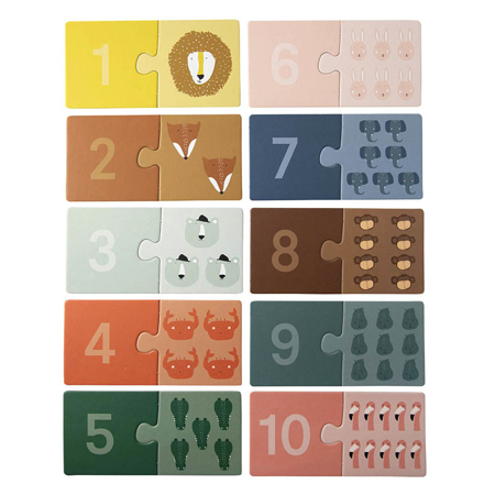 Slika za Trixie Baby® Slagalica s brojevima