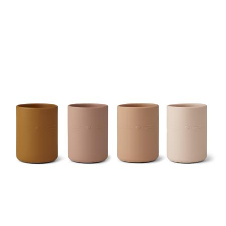 Slika za  Liewood® Set 4 silikonske čašice Ethan Cat Multi Mix