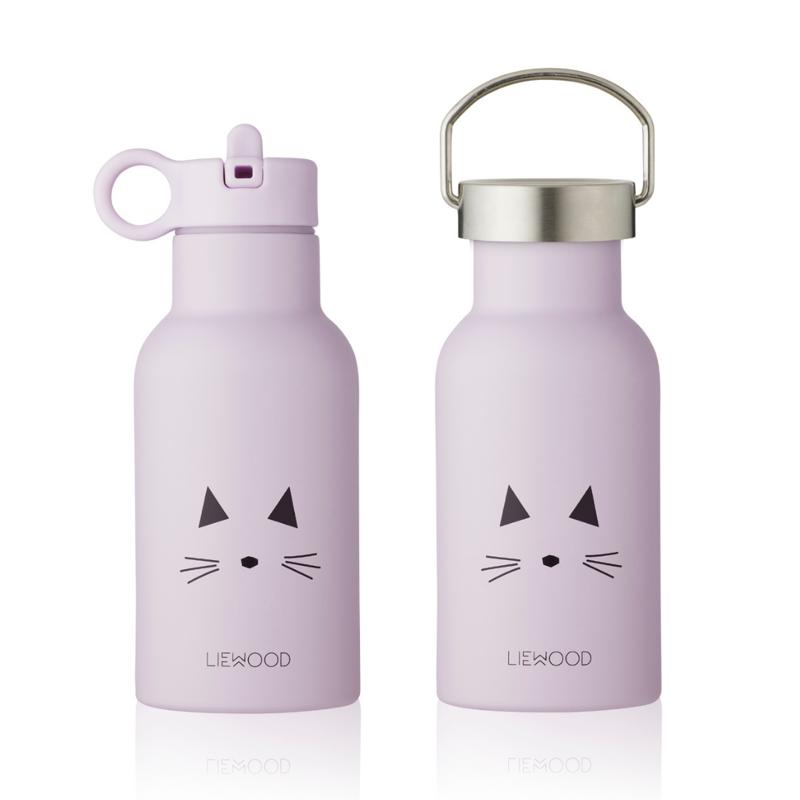 Slika za Liewood® Bočica od  nehrđajućeg čelika Anker Cat Light Lavander 350ml