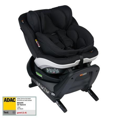 Slika za Besafe® Dječja autosjedalica iZi Turn B i-Size (40-105 cm) Black Cab