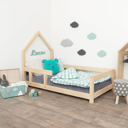 Slika za Benlemi® Dječji krevetić Poppi 200x90 Natural