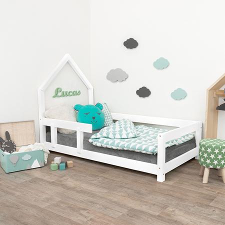 Slika za Benlemi® Dječji krevetić Poppi 200x90 White