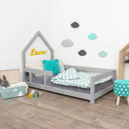 Slika za Benlemi® Dječji krevetić Poppi 200x90 Grey