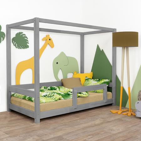 Slika za Benlemi® Dječji krevetić Bunky 200x90 Grey