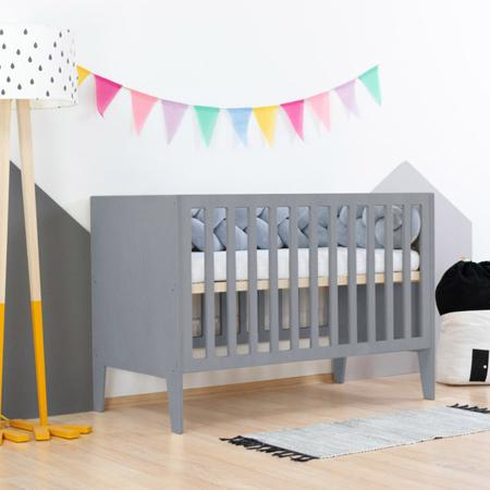 Slika za Benlemi® Dječji krevetić Sleepy 120x60 Grey