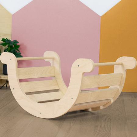 Slika za Benlemi® Dječja ljuljačka za ravnotežu Montessori Yupee Natural
