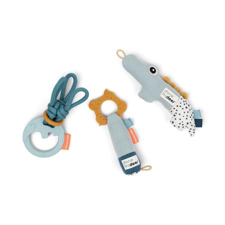 Done by Deer® Poklon set didaktičkih igračaka Blue