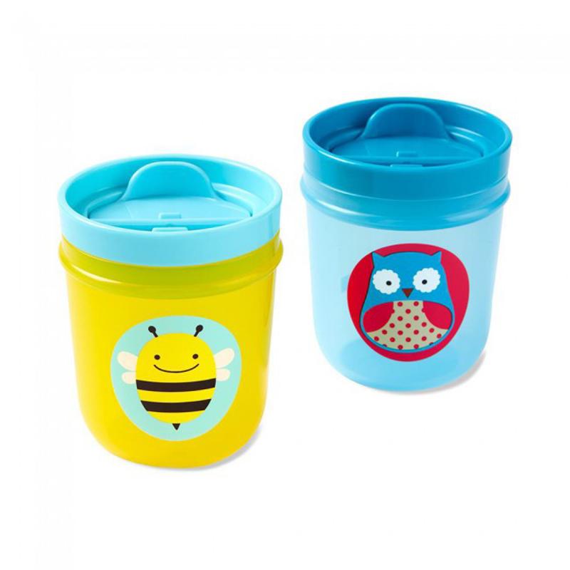 Slika za Skip Hop®  Komplet  dvi čašice za pijenje Sova/ Pčelica