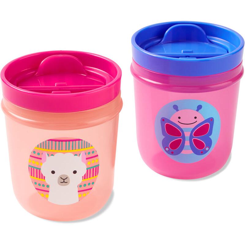 Slika za Skip Hop®  Komplet  dvi čašice za pijenje Leptir/ Lama