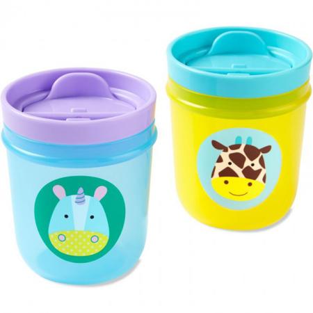 Slika za Skip Hop®  Komplet  dvi čašice za pijenje Jednorog/Žirafa