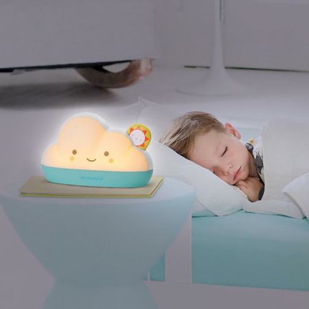 Slika za  Skip Hop®  Nočna pametna lampa za uspavljivanje Oblak