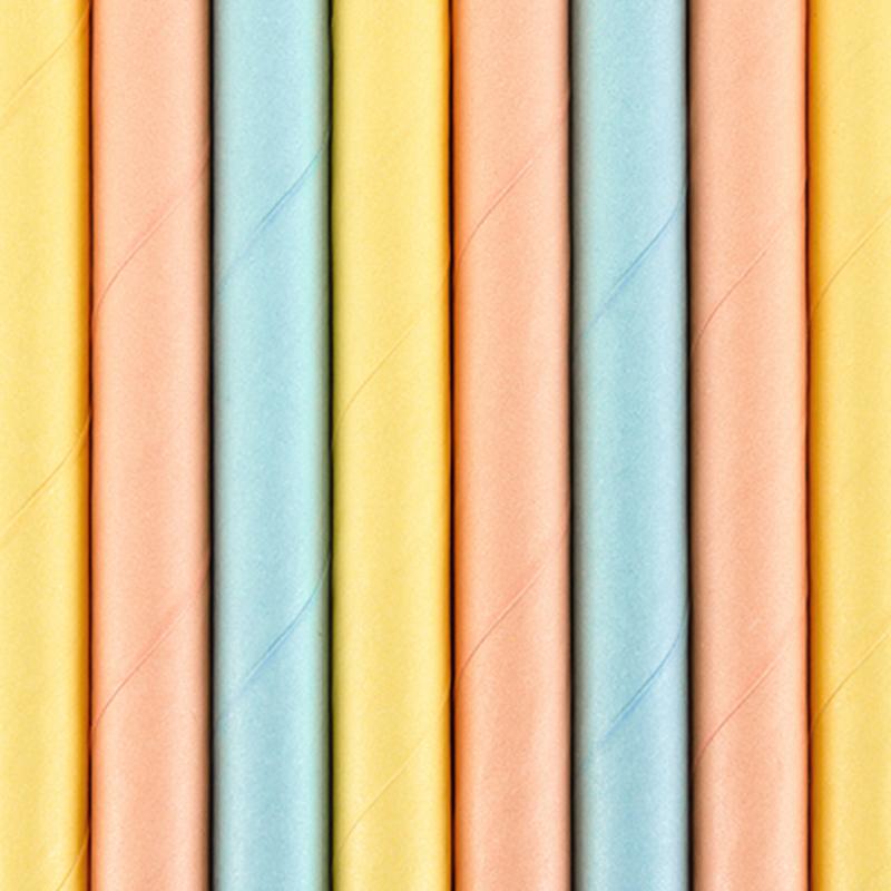 Slika za Party Deco®  Papirne slamice Summer Time 10 komada