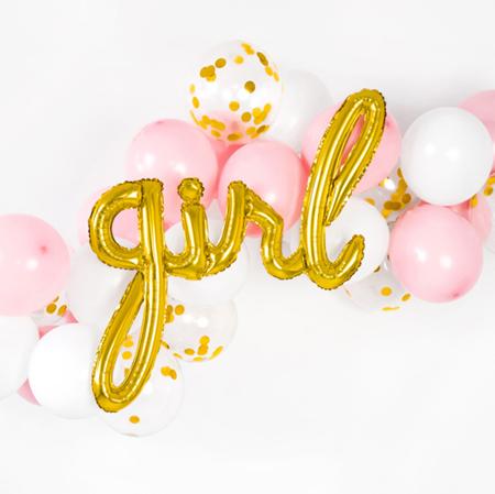 Slika za Party Deco® Balon Girl Gold
