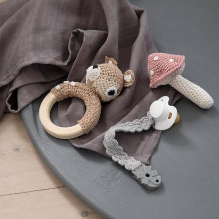 Slika za Sebra® Podloga za previjanje Pusle Pur Dew Grey