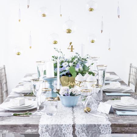 Slika za Party Deco® Troslojne salvete Light sky Blue 20 komada