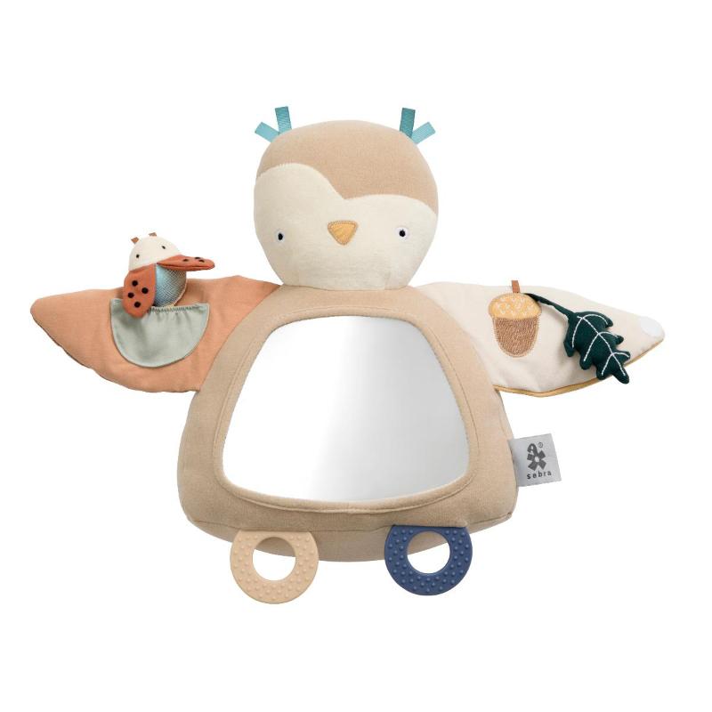 Slika za Sebra® Didaktičko ogledalo Blinky Owl Maple Beige