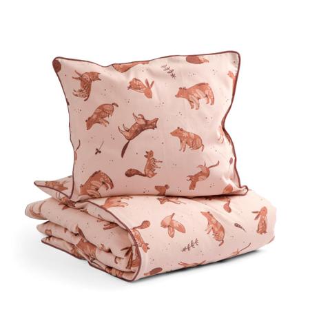 Slika za Sebra® Dječja posteljina Nightfall Dreamy Rose 70x100