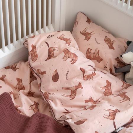 Slika za Sebra® Dječja posteljina Nightfall Dreamy Rose 100x140