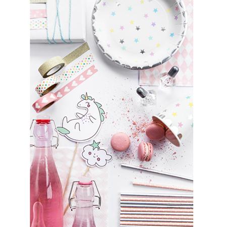Slika za Party Deco® Čašice Jednorog - Zvijezde