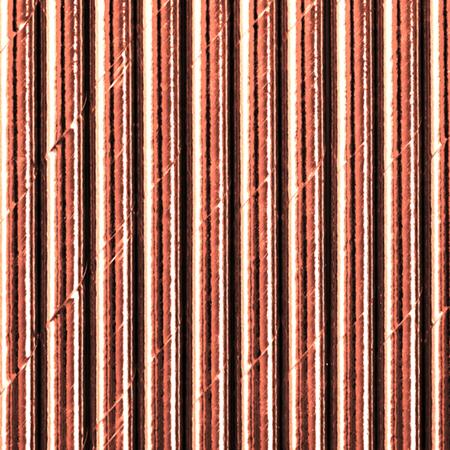 Slika za Party Deco®  Papirne slamice Rose Gold 10 komada