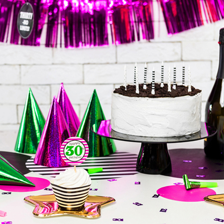 Slika za Party Deco® Svijećice Točkice i crtice