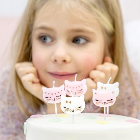 Slika za Party Deco® Svijećice Mačka