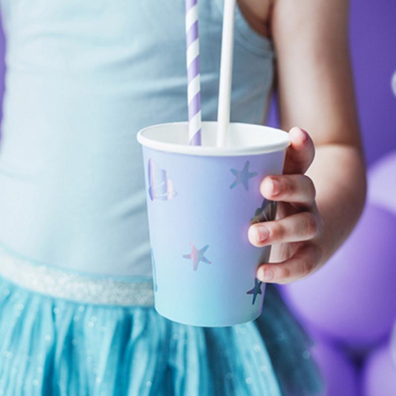 Slika za Party Deco® Čašice Narwhal