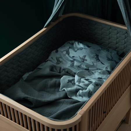 Slika za Sebra® Komplet 3 tetra pelene Nightfall Hazy Blue 75x75