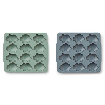 Slika za  Liewood® Silikonski kalupi za led Sonny Peppermint/whale blue mix