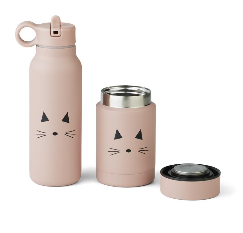 Slika za Liewood® Set termo posude i termo bočice Marlow Cat Rose