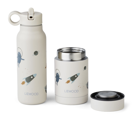 Slika za Liewood® Set termo posude i termo bočice Marlow Space sandy Mix