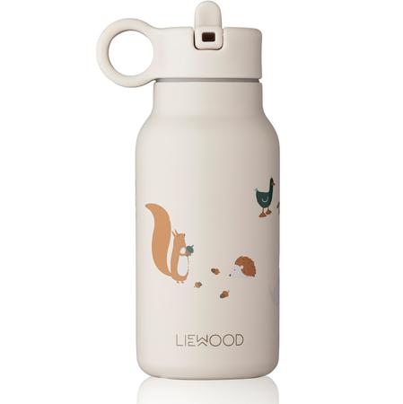 Liewood® Poklopac sa slamkom i četkicom za bočicu Falk 250ml Creme