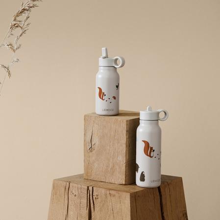 Slika za Liewood® Poklopac sa slamkom i četkicom za bočicu Falk 350ml Rose