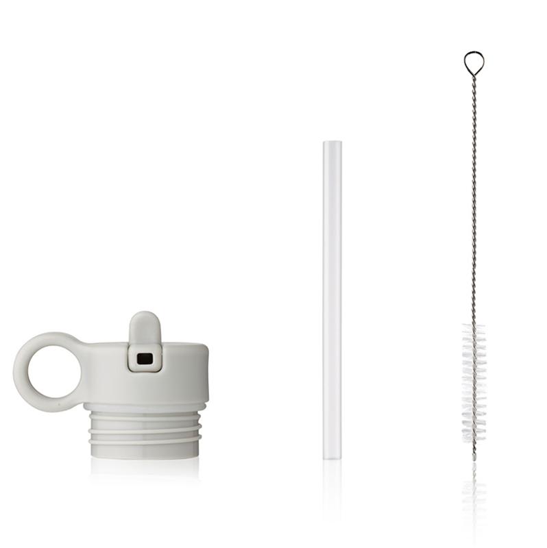 Slika za Liewood® Poklopac sa slamkom i četkicom za bočicu Falk 350ml Sandy