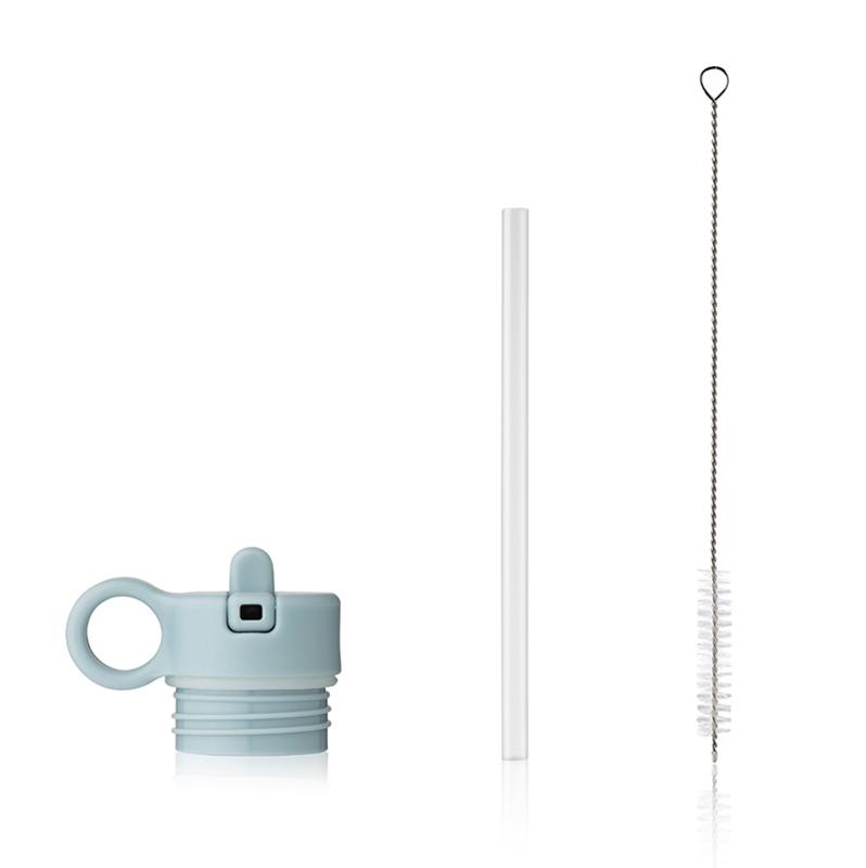 Slika za Liewood® Poklopac sa slamkom i četkicom za bočicu Falk 350ml Sea Blue
