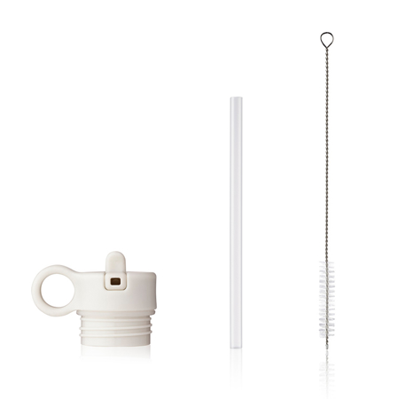 Slika za Liewood® Poklopac sa slamkom i četkicom za bočicu Falk 350ml Creme