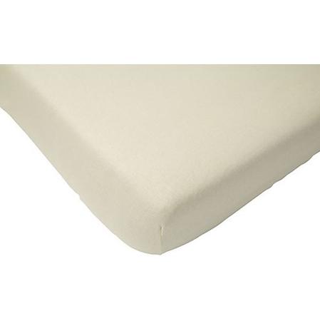 Slika za Jollein® Pamučna plahta Off White 120x60