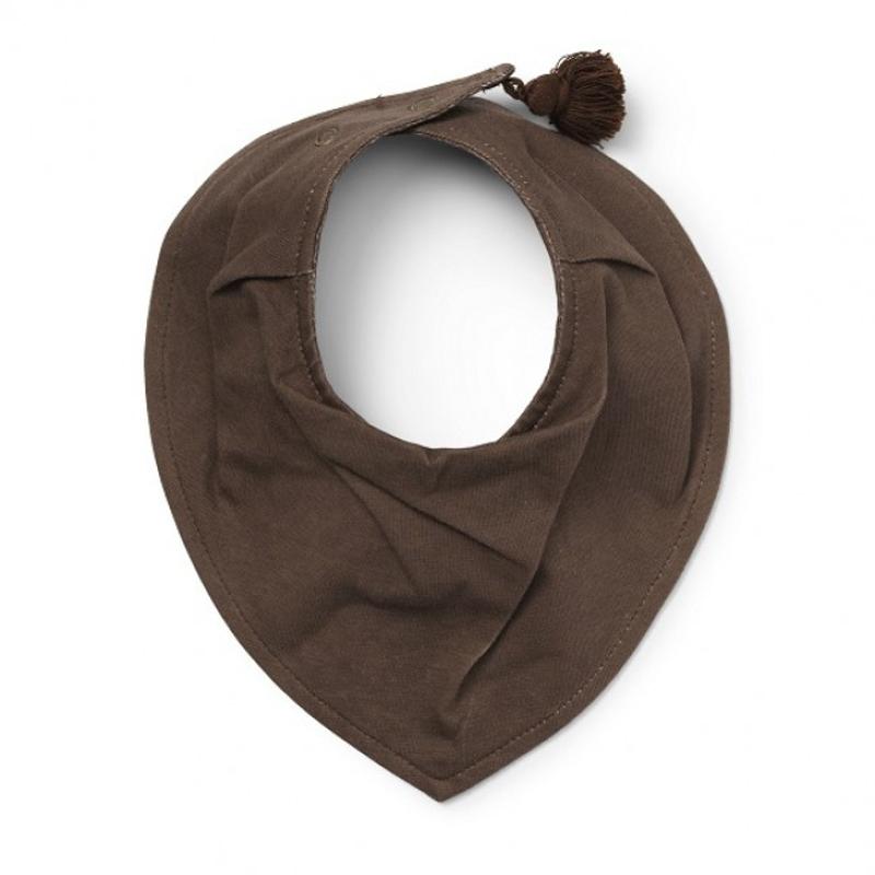 Slika za Elodie Details® Pamučni podbradnjak Chocolate