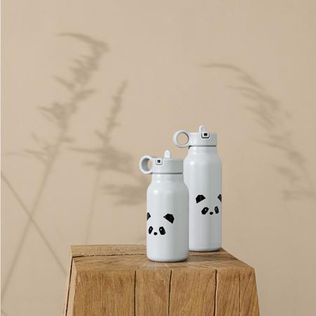 Slika za Liewood® Bočica od nehrđajučeg čelika Falk Panda light grey 350ml
