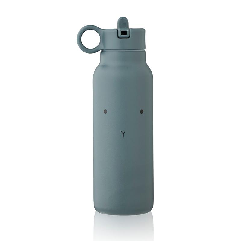 Slika za Liewood® Bočica od nehrđajučeg čelika Falk  Rabbit whale blue 350ml