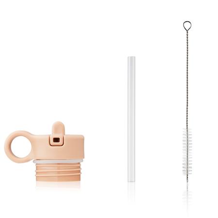 Slika za Liewood® Poklopac sa slamkom i četkicom za bočicu Falk 250ml Peach