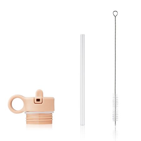 Slika za Liewood® Poklopac sa slamkom i četkicom za bočicu Falk 350ml Peach