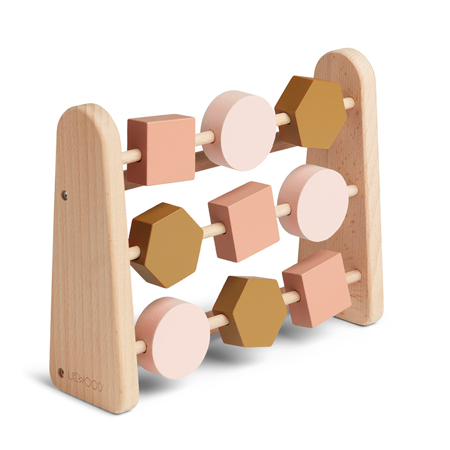 Liewood® Drveni računar Abacus Geometric Rose Multi Mix