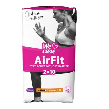 Slika za  Violeta® Higijenski ulošci We Care Air Fit Super+ 20/1