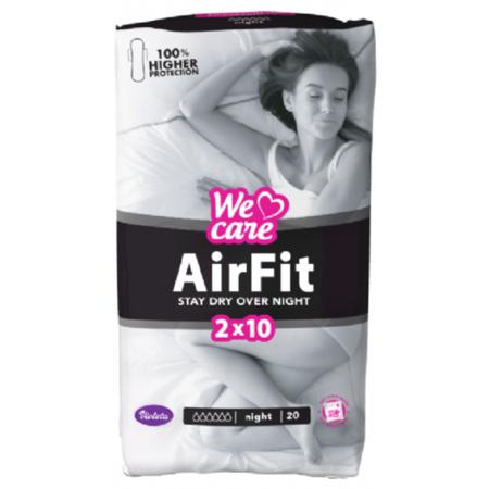Slika za Violeta® Higijenski ulošci We Care Air Fit Night 20/1