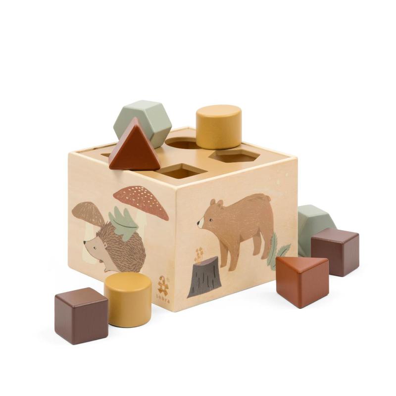 Slika za Sebra® Drvena kocka s različitim oblicima Nightfall
