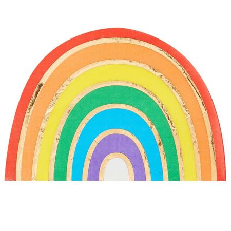 Slika za Ginger Ray® Papirne salvete Rainbow Gold 16 kom